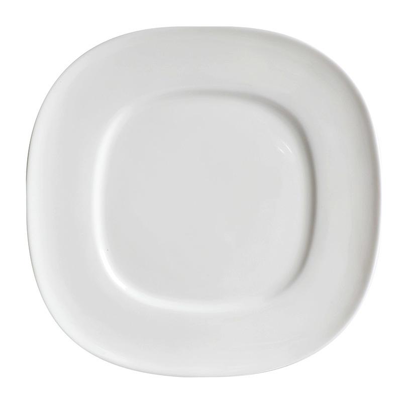 Decorative Hotel & Restaurant Supplies Square Restaurant Plates, Porcelain Plates Square, Trending Square Dinner Sets