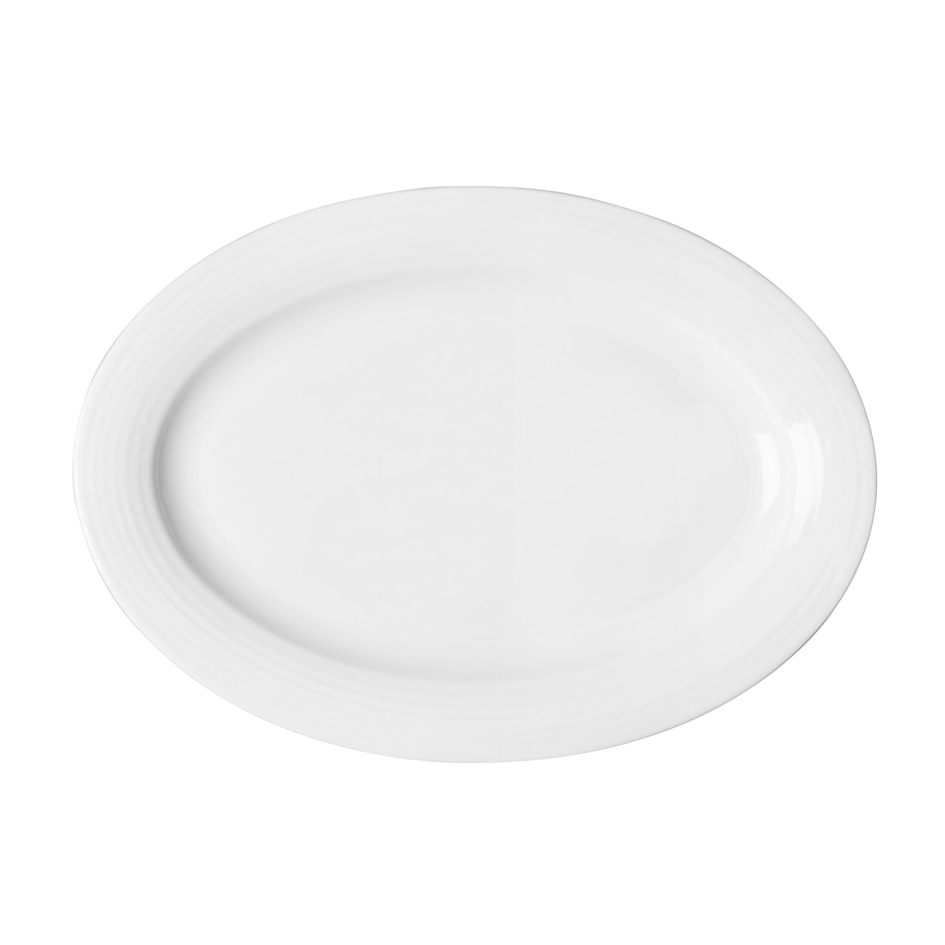 Luxurious Banquet Porcelain Dinnerware Egg Shape Dinner Plate, Chaozhou Factory Catering Fine Oval Ceramic Dish Plates Sets~