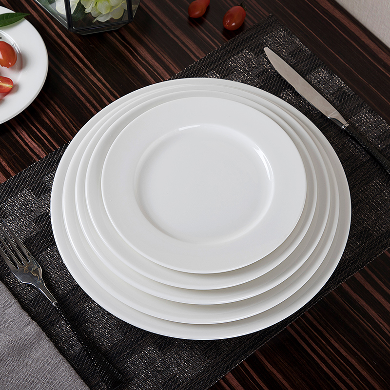 28ceramics Hotel Tableware Hotel Plates Dishes, 28ceramics Buffet Tableware 10/10.5/11 Inch Dinner Plates Used In Wedding~