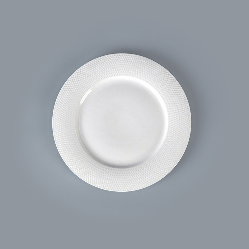 White Round Plates Ceramic Dinner,Wholesale Porcelain Charger PlateWholesale For Restaurant Party Eco Plates