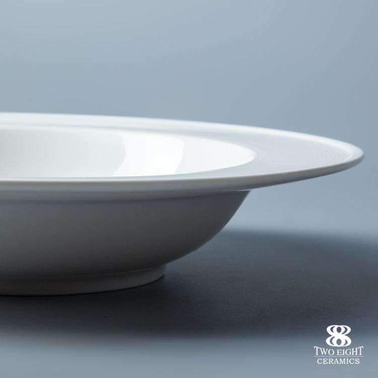Wholesale wedding dinner set bulk hotel ware porcelain ceramic plate