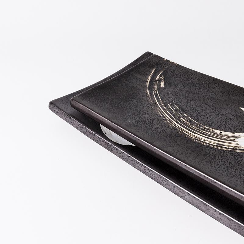 Eco Friendly Wholesale Cheap Bulk Ceramic Rectangle Plate, Dinnerware Sets Tableware For Restaurant Prices*