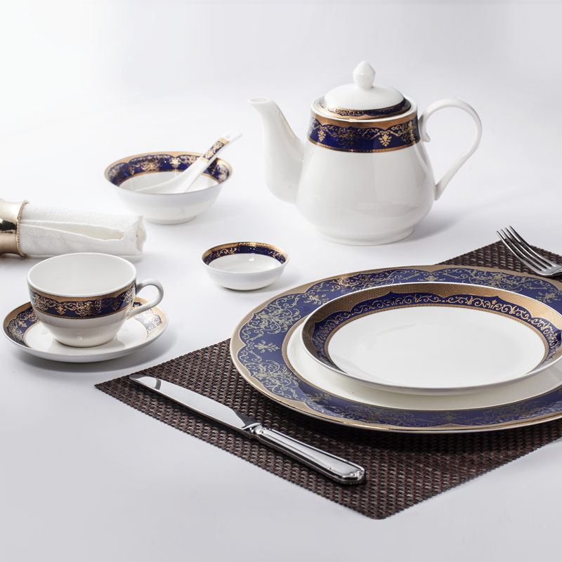 flat plate restaurant plates setsfine china dinnerware setsembossed royal classic bone china
