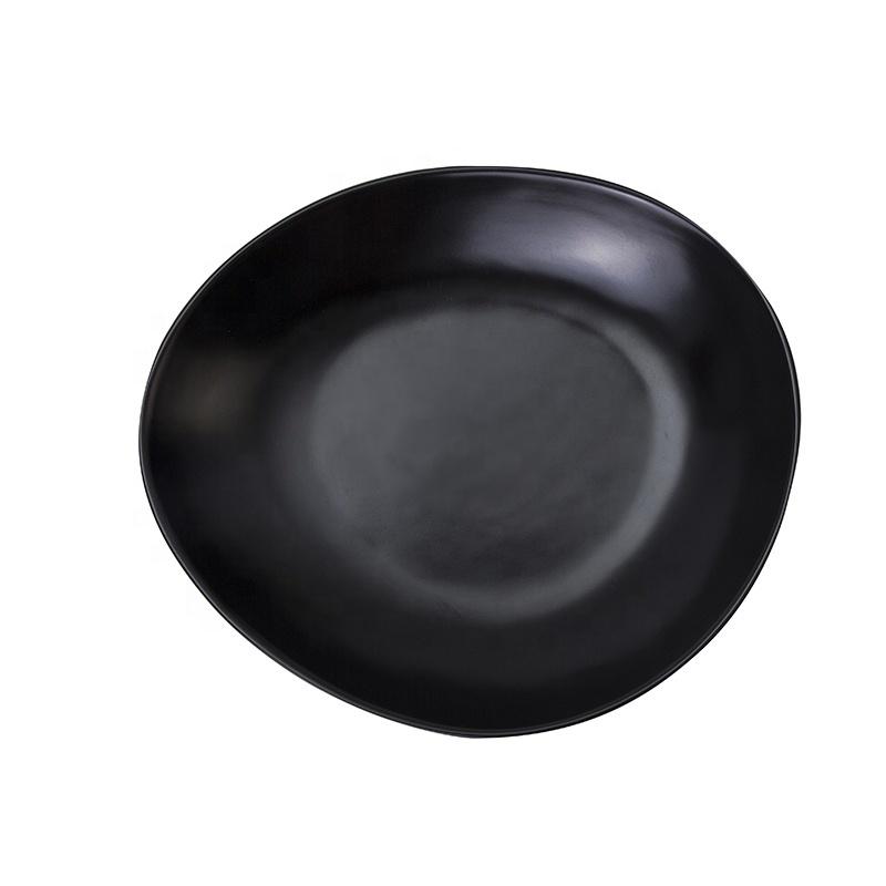 Best Choice Porcelain Plates Restaurant Dinnerware Matt Black, Two Eight Ceramics Porcelain Plate Black%