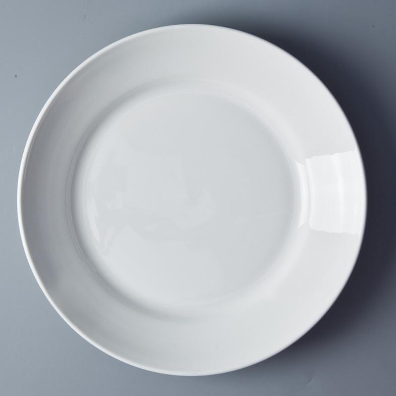 Porcelain Dinner Plates For Restaurant, 9/10/11 Inch Banquet Catering Restaurant Plates Ceramic Dinner