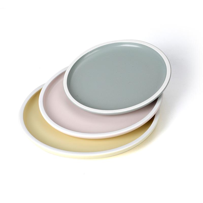 28ceramics Plates Ceramic Tableware Plates Restaurant Ceramic Dinner, Hotel Tableware Color 7/8/9/10 Inch Plain Ceramic Plates&