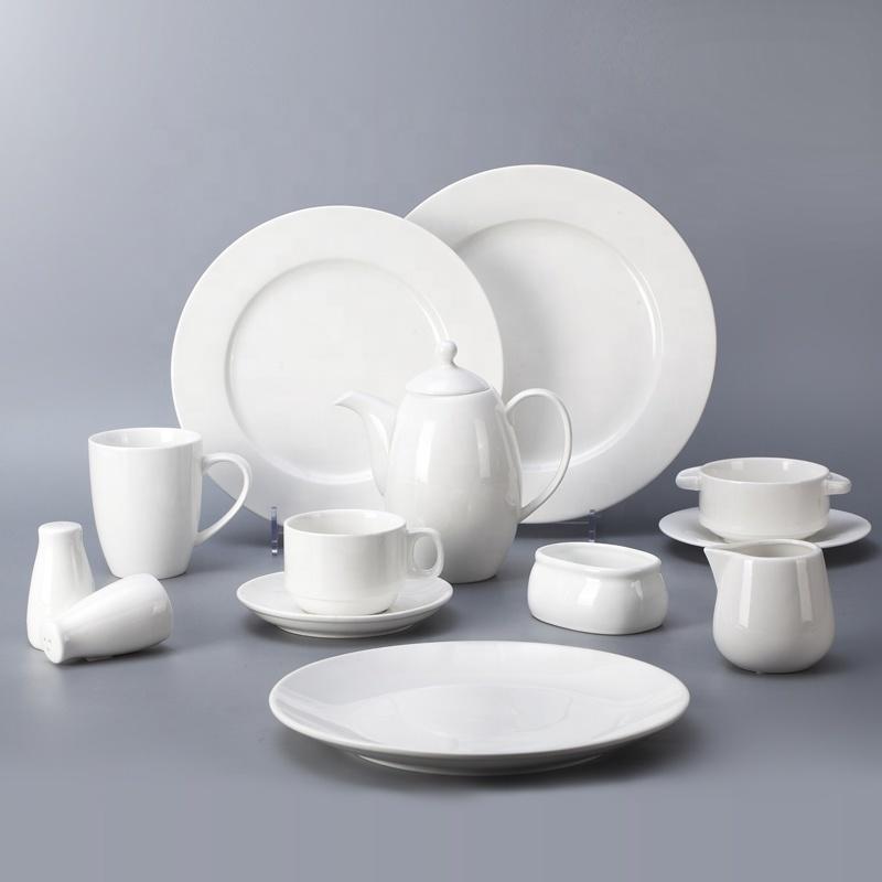 2018 New Porcelain White Banquet RestaurantSquare Dinner Plates, Ceramic Square Plate Square Restaurant Plates>
