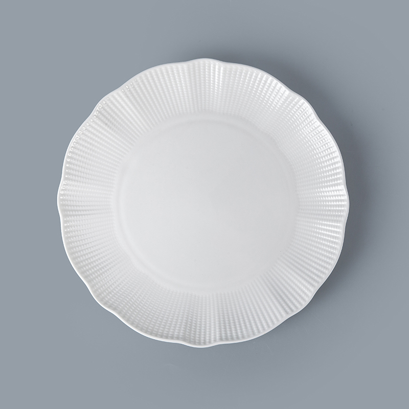 Bone China Porcelain Hotel Restaurant Crockery Tableware Platter, Bone China Porcelain Porcelain Serving Platter^