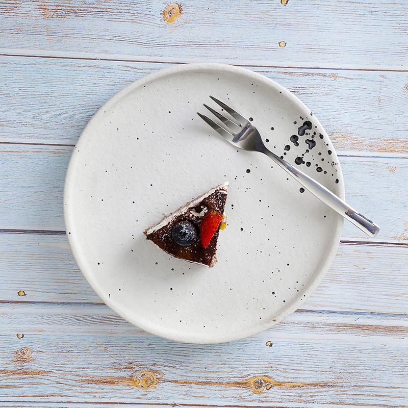 28ceramics Hotel Tableware Ceramic Dessert Plates, Hotel& Restaurant Ceramic Tableware 8/10/12 Inch Ceramic Snack Plate*