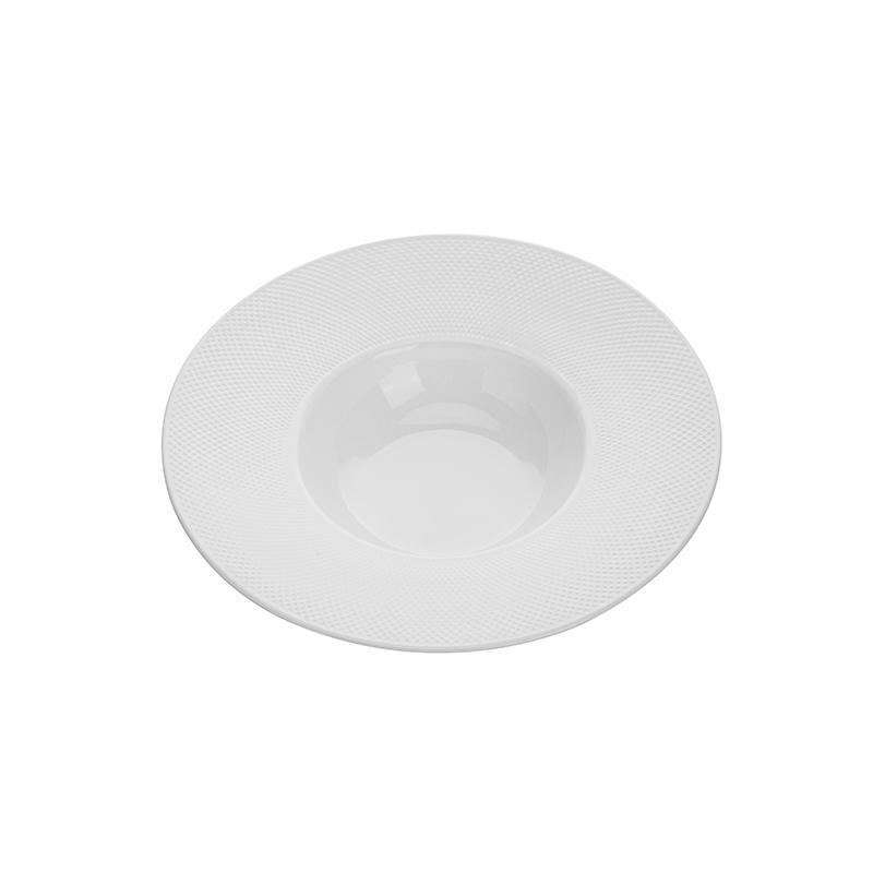Western Style Strong Lounge Assiette Porcelaine, Restaurant Dinnerware Bowls Dessert Plates Set*