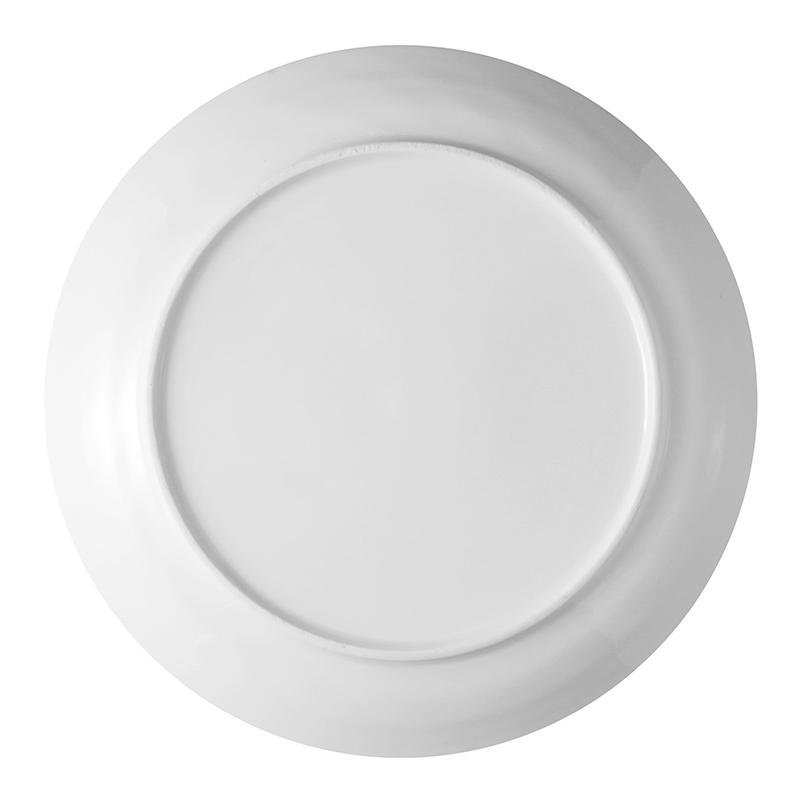 6.25-8.25-10.5-12 inch LFGB/FDA CertificateUsed Restaurant Plates, Catering Cheap White Ceramic Plate, Plates Restaurant Hotel