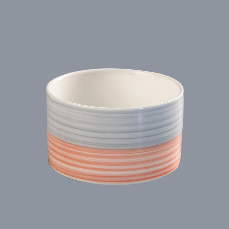 wholesale restaurant crockery buffet restaurant ware soup bowl ceramic