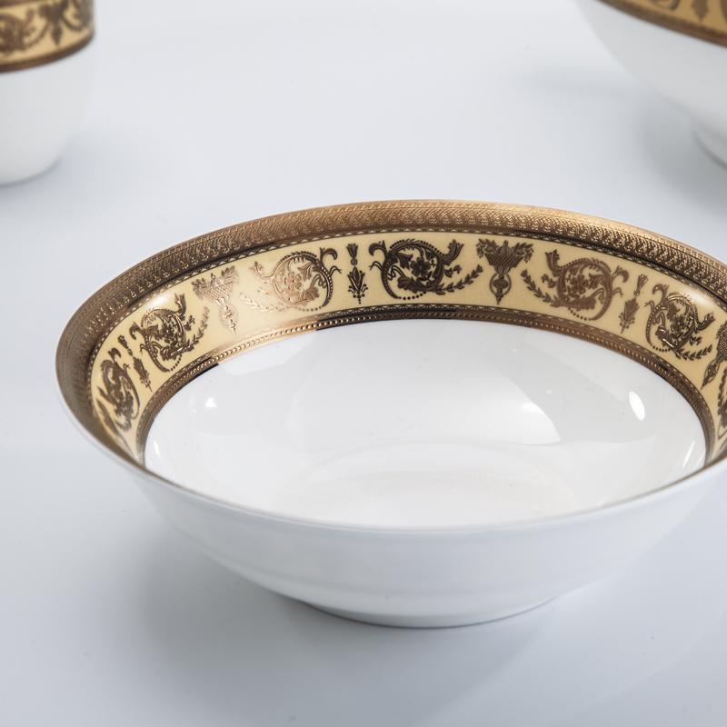 Restaurant Royal classic bone china chinaware on saledinnerware sets