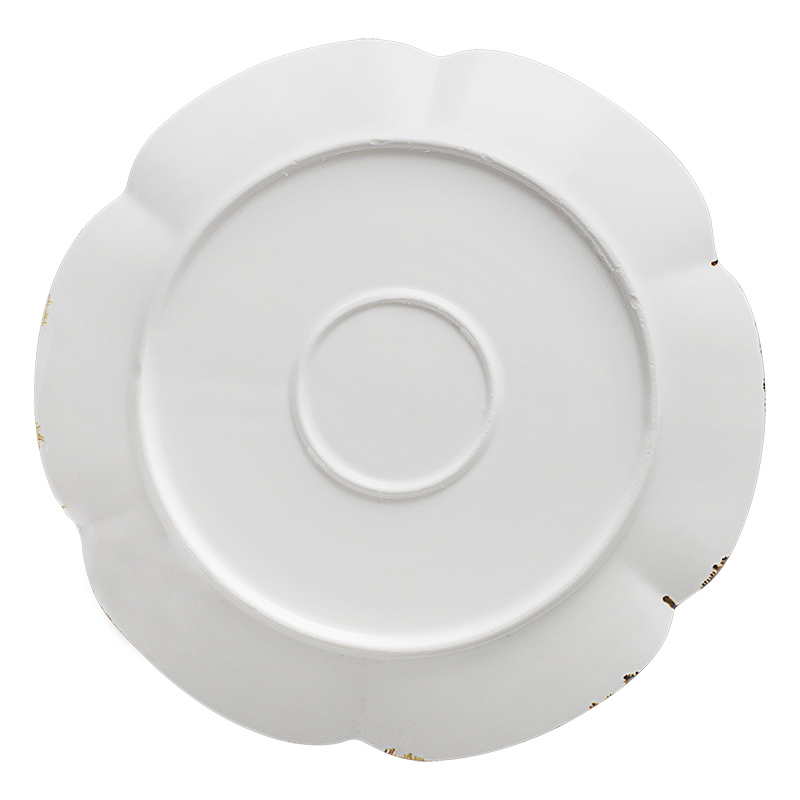 New Design Heat Resistant Porcelain Plates Restaurant Supplier Chinese Dishes Hotels/