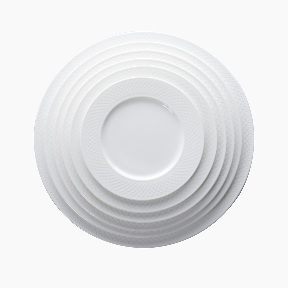 Hot Sale Banquet Dinnerware Ceramic Dinner Plates For Restaurant, Bone China Dinner Plate@