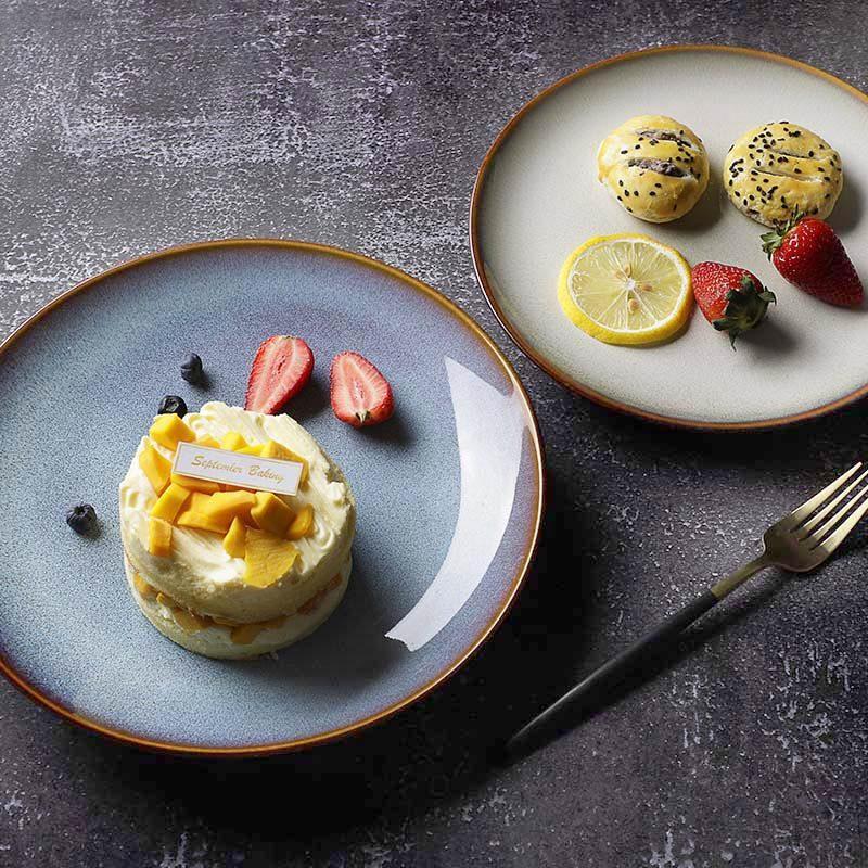European Style Porcelain Dish, Vajilla De Porcelana, Luxury Porcelain Plates Set/