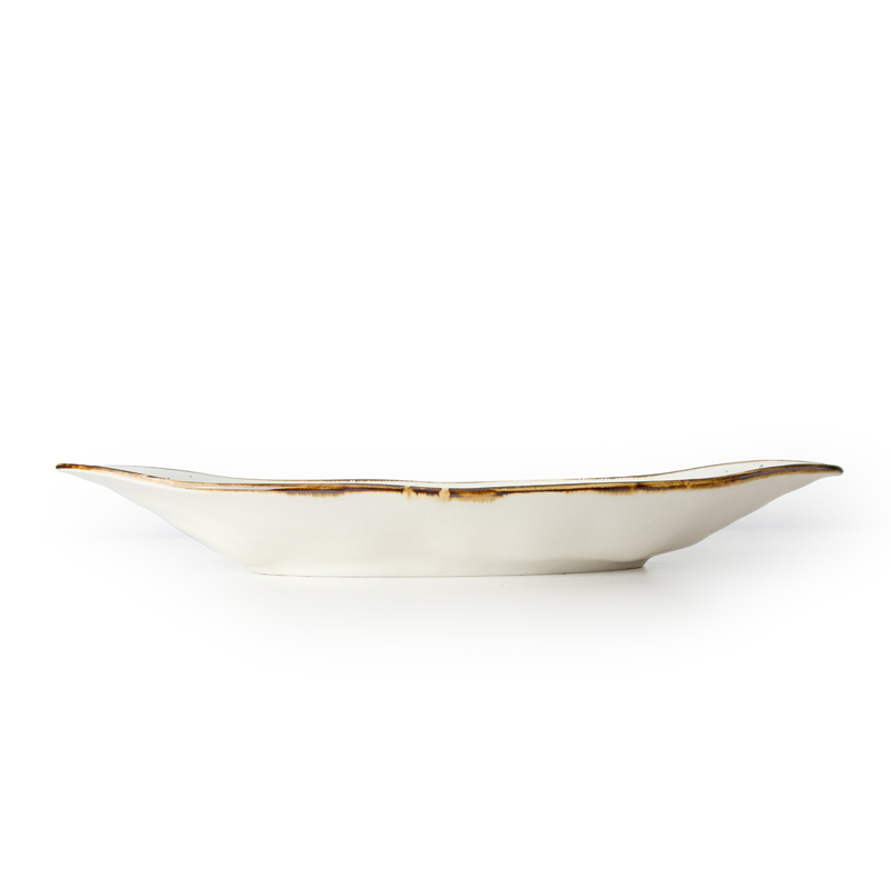 changing lifestyle color buffets outdoor dining innovative boat shaped deep plate
