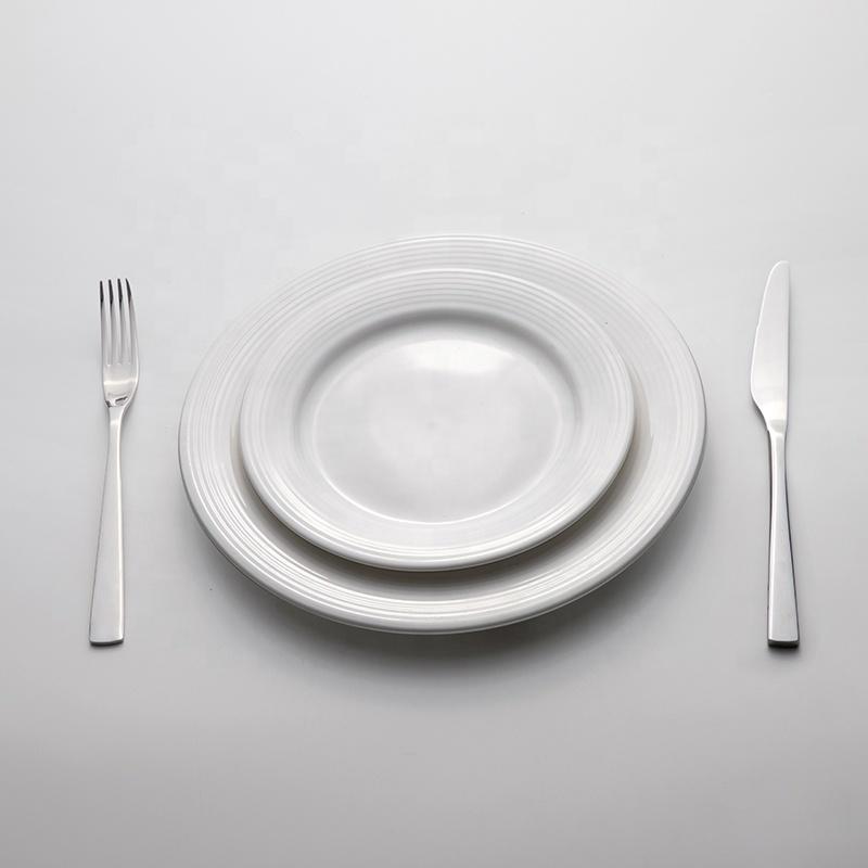Best Selling Products Crockery Plates Sets Dinnerware Ceramic, Luxurious Durable Club Dinner Plates Ceramic Restaurant%