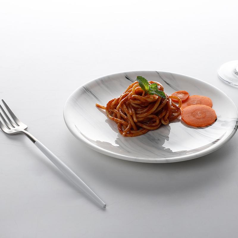 New Design Porcelain Tableware Crockery Dinnerware Marble, Manufacturer Restaurant Dinner Ceramic Marble Plate>