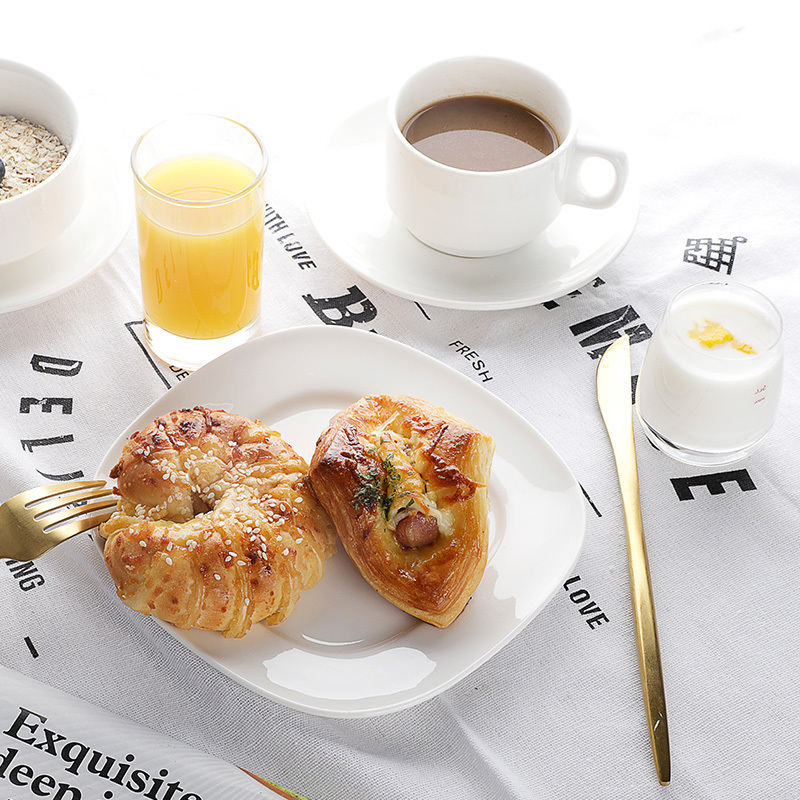 Artistic Tableware Design, Beautiful Fashion Catering Plates, Hotel And Restaurant Ceramic Plate Sets