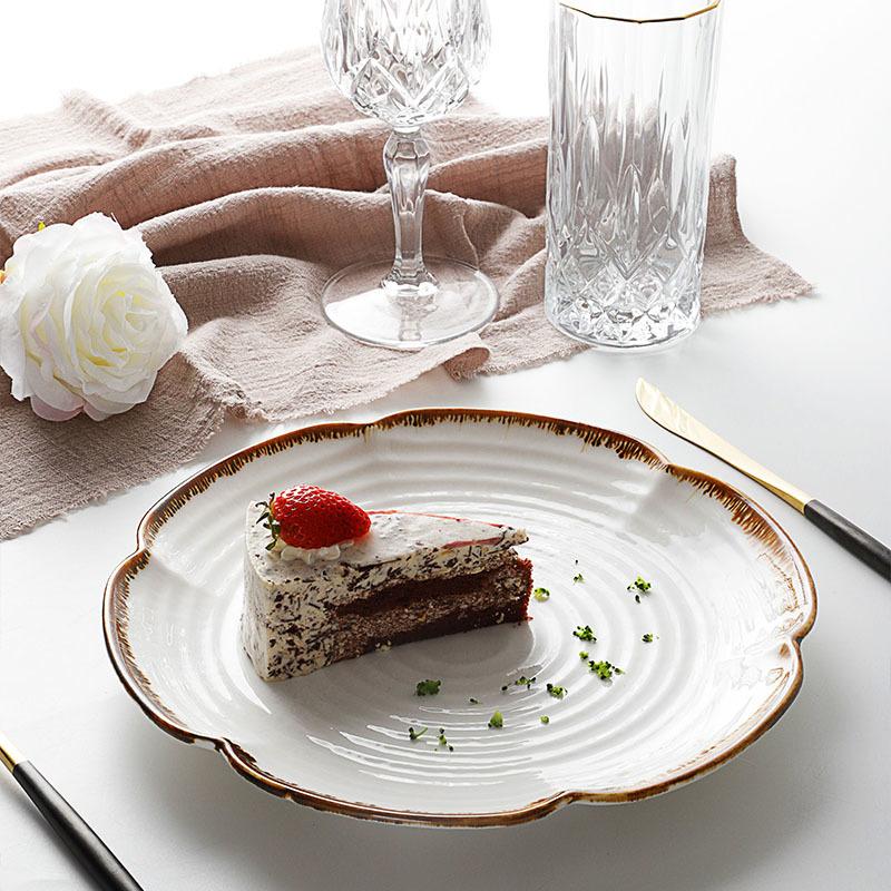 Plates Modern Restaurant Supplier, Horeca Porcelain Crockery Plates, Catering Party Event Set Dishes Porcelain/