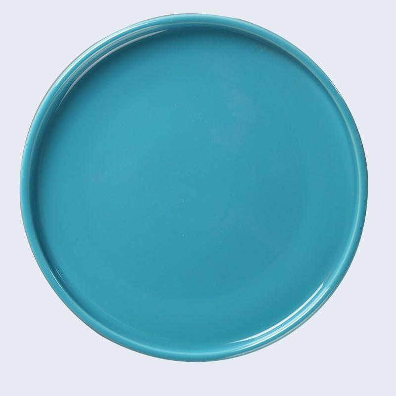 Custom Printed Plates Dishes, Good Quality European Ceramic Plate For Restaurant*