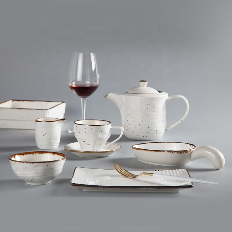 plates restaurant ceramic plate crockery for hotels plate catering