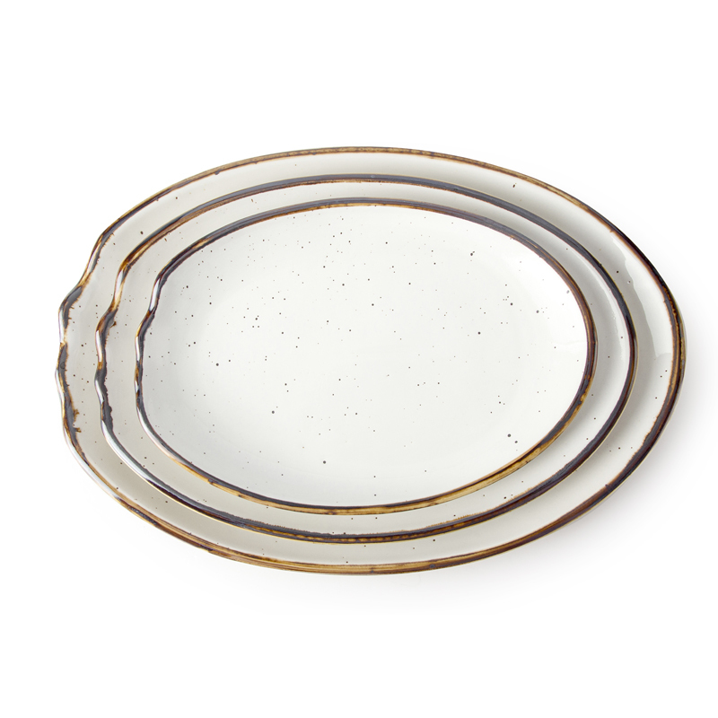 28ceramics Catering Crockery 9.75/12/13.75 Inch Hotel Serving Dishes, 28ceramics Crockery For Hotel Hotelware Serving Dish@