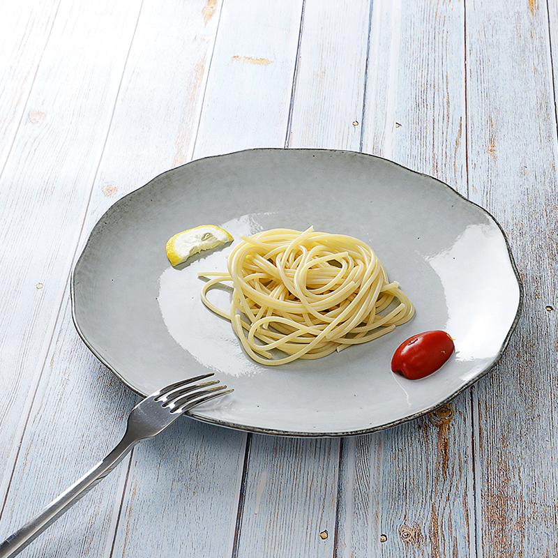 Dining Restaurant Supply Vajilla Gourmet Custom Ceramic Dish, Luxury Lounge Porcelain Food Plates, Dishes Plates@