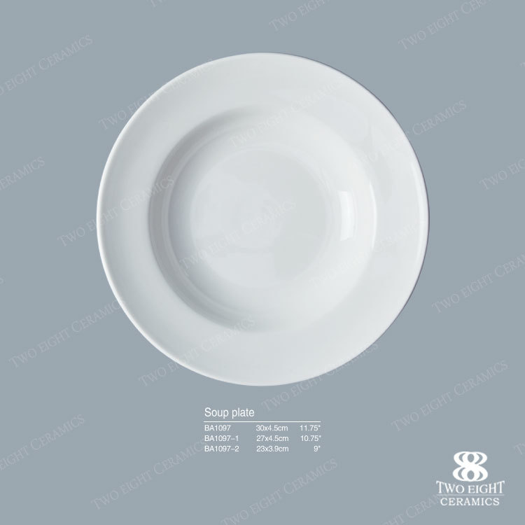 factory sale round porcelain dinnerware pasta plates