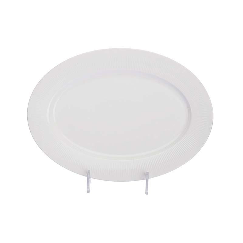Western Style Dishwasher Safe Event Plate Set Ceramic Dinnerware, Innovadores Louas Para Festas Porcelain Serving Platter#