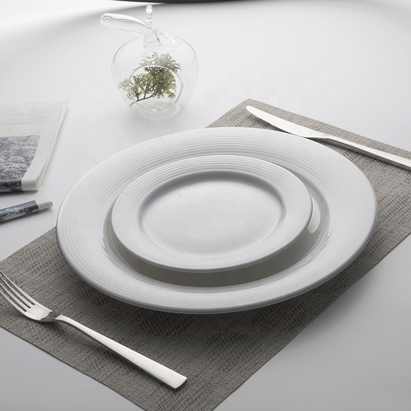 Wholesale Chaozhou Factory Used Restaurant Plates, Unique Product Microwave Safe Hotel Plates Sets Dinnerware&