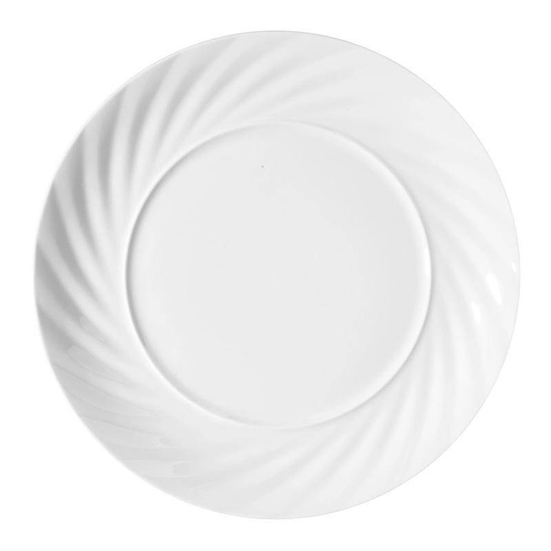 Top Choice 8/10 Inch Ceramic Plate Vajillas de Restaurante Hotel Plates