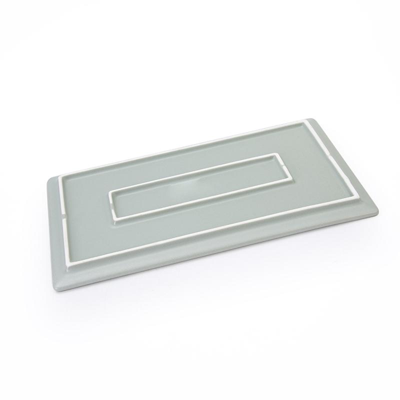 Strong Crockery Porcelain Flat Rechteckig BarbecuePlate Tray, Rectangular Plates%