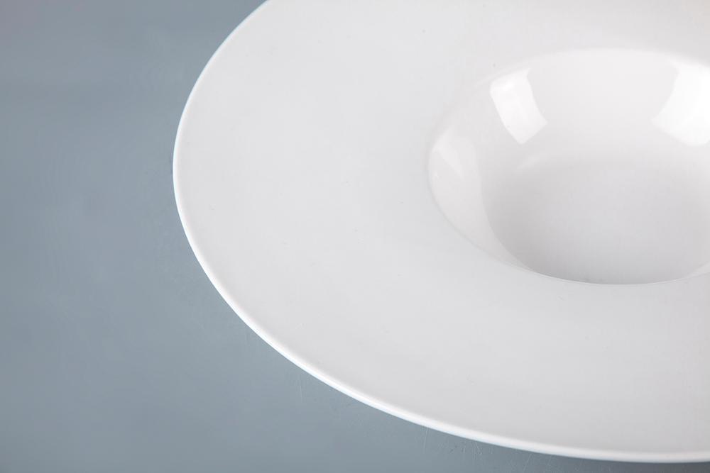 Royal Porcelain Plate SetDinnerware Hotel Plate Soup, Wide Rimmed Soup Bowls, Ceramic Soup Bowl>