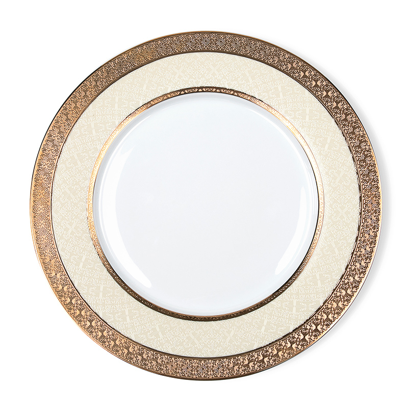 Royal China Ware Gold Plated Ceramic, Wholesale China Ware Bone Plate, Bone China Dishes For Restaurant^