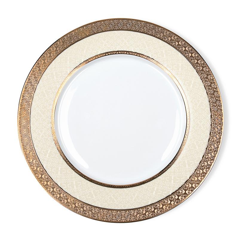 Royal China Ware Gold Plated Ceramic, Wholesale China Ware Bone Plate, Bone China Dishes For Restaurant^