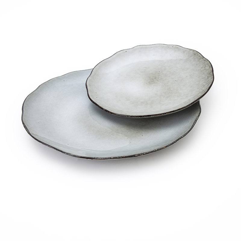 Used Restaurant Dishes For Sale, Luxury Restaurant Vajilla Gourmet Plate Porcelain, Dining Cafe Crokery Dessert Plate/
