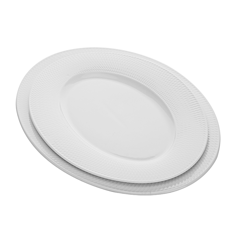 Kitchen Accessories 2019 Catering Supplies Ceramic Dinner Plates India Restaurant Oval Plate,Oval Shaped Dinnerware