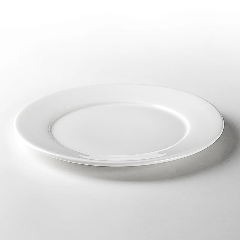 Hotel White Ceramic Dishware, European Sets Of Dishes,Restaurant Supplies Plates/
