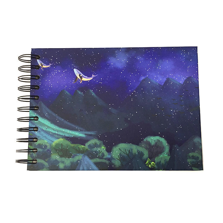 product-Bulk Romantic Custom Photo Album with Blank Self Stick Pages for 3R photos-Dezheng-img-2