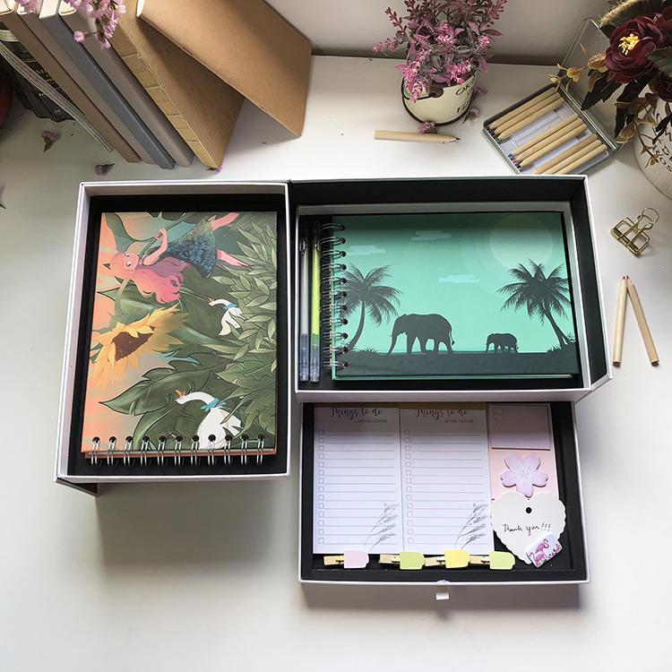 2020 Hawaiian Elephant Self Adhesive Pages Spiral Wedding Photo Album