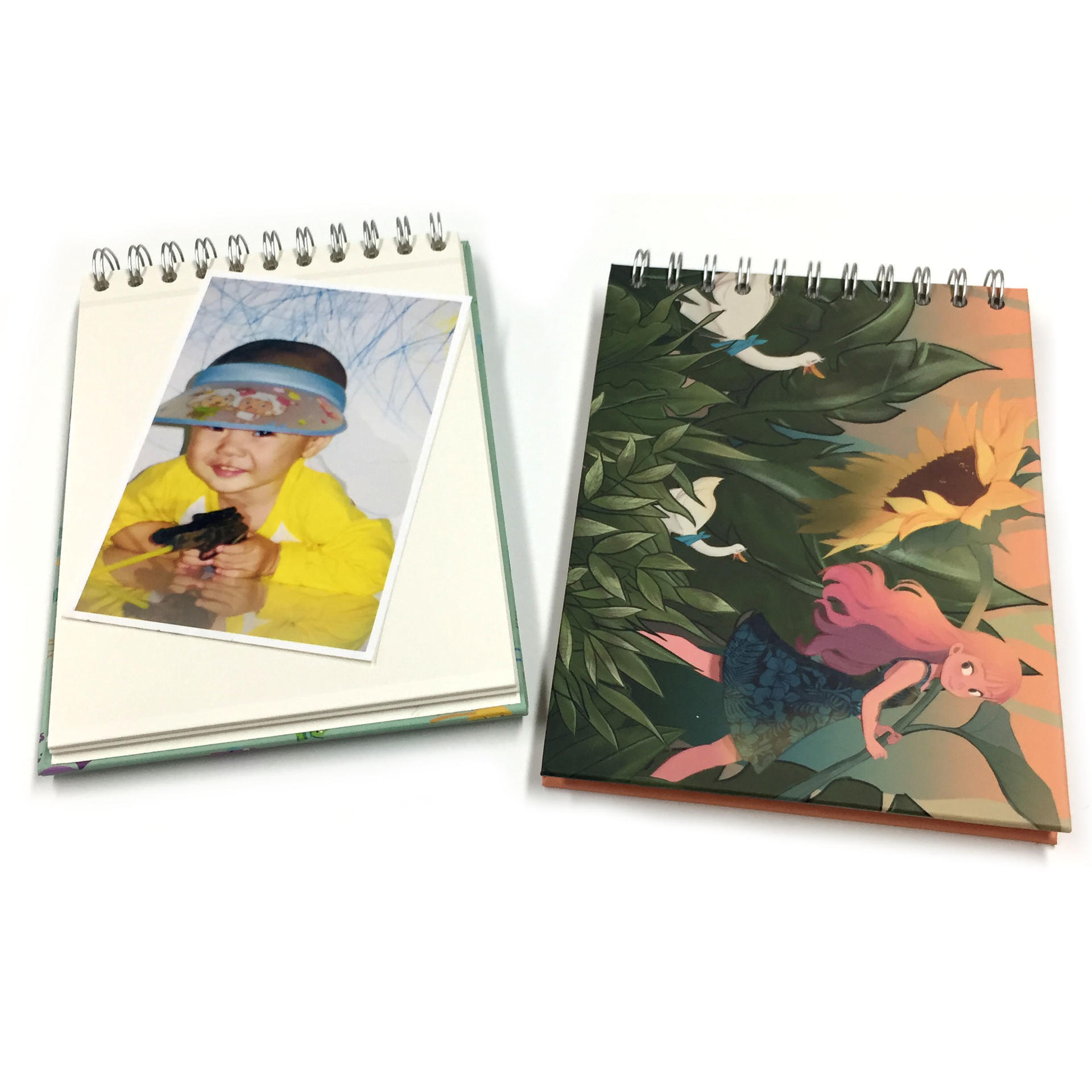Bulk Purchase Spiral Bound 5x7 Self Stick Photo Album With 20 Pages