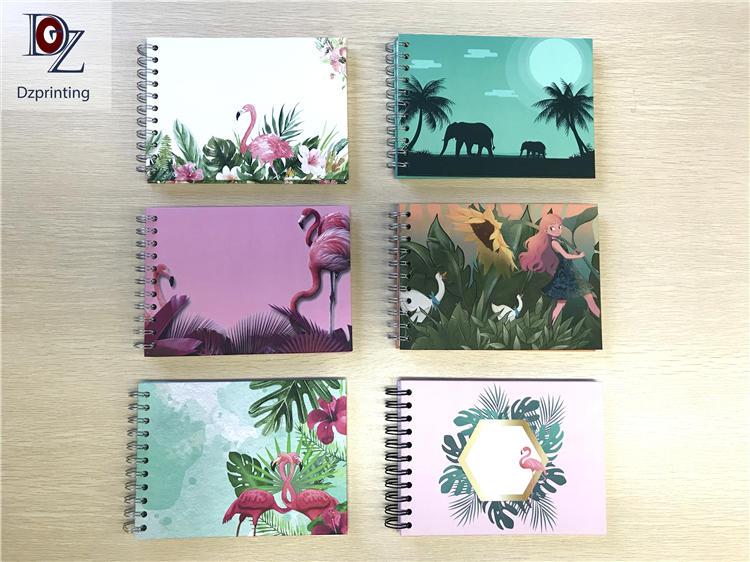 product-Dezheng-Flamingo Design Paper Hardcover Self Adhesive Sheets Photo Album-img-1