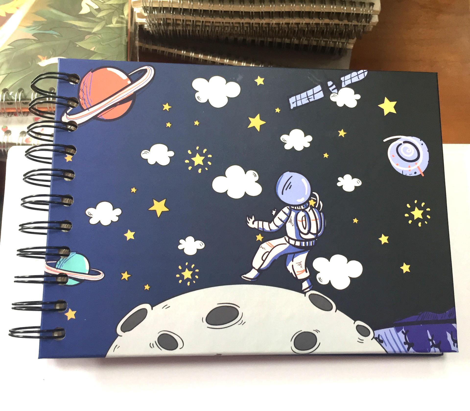 product-Dezheng-Small birthday self adhesive photo album memory book-img-1