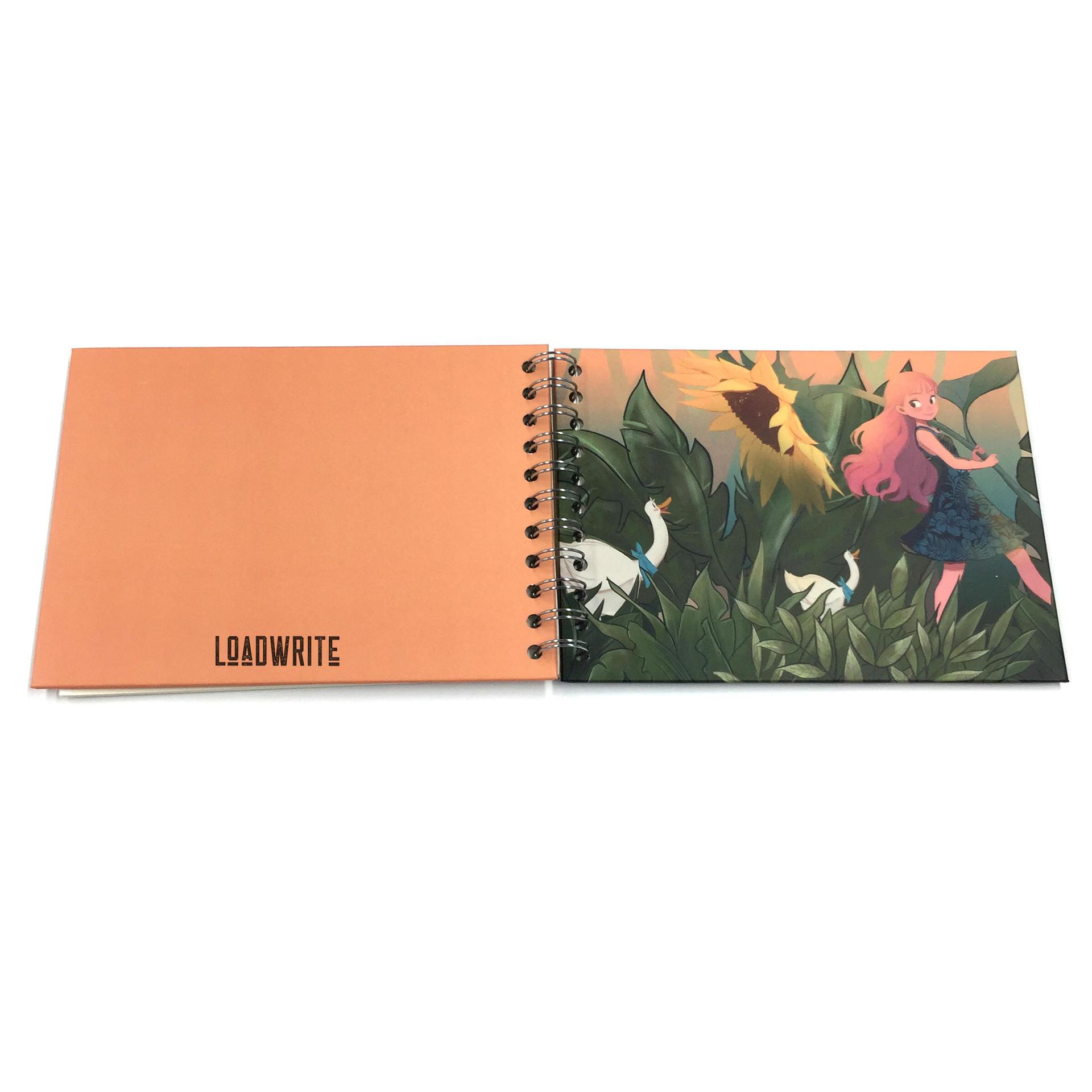Loadwrite self adhesive scrapbook white phoro albums