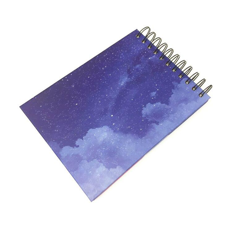 Starry Sky 8*5.8 Inch White Card Self Adhesive Pasting Photo Album