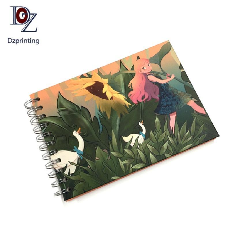 product-Orginal Design 200 Photos Little Girl Custom Scrapbook Self Adhesive Photo Album-Dezheng-img-1
