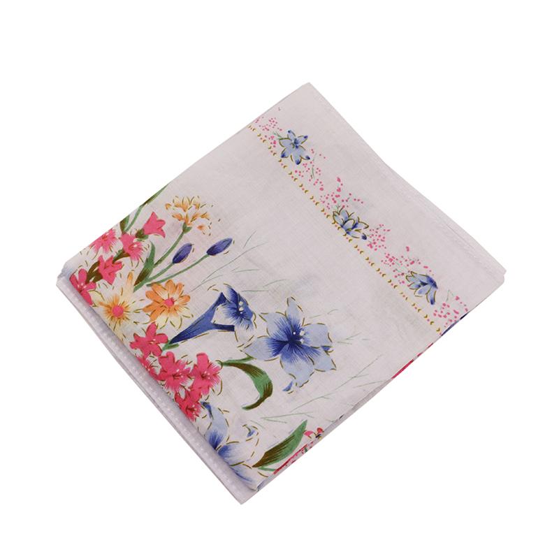 luxury custom printing 100% cotton fabric hand towel tea towel handkerchief