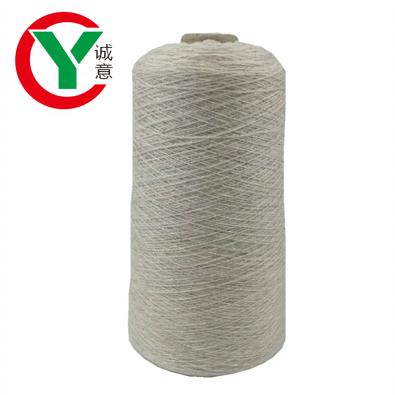 High quality cashmere wool blended yarn for weaving scarf and shawl